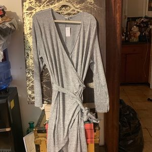Gap wrap dress (plus size)